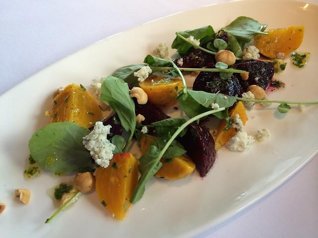 Roasted beet salad - Waterbar