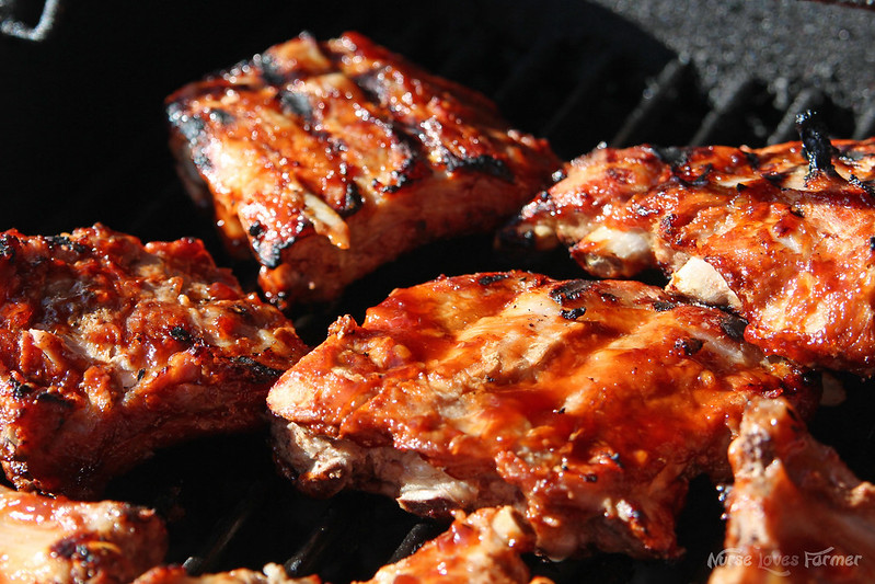 Honey Garlic BBQ Pork Ribs