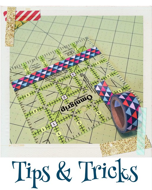 Tips & Tricks- fussy cutting or squaring up