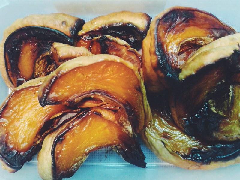 Comida para el  viaje - Calabaza asada al horno