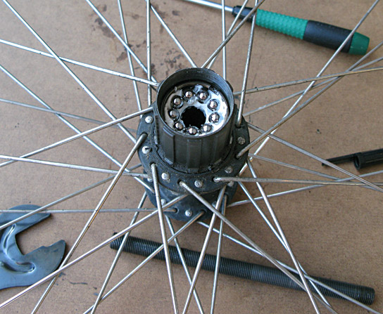 Servicing my Shimano Deore hub Page 2