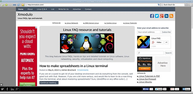 What are the alternatives to Google Chrome and Firefox on