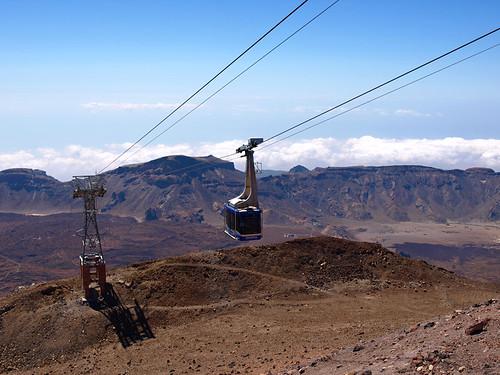 Cable Car, Mount Teide, Teide National Park, Tenerife