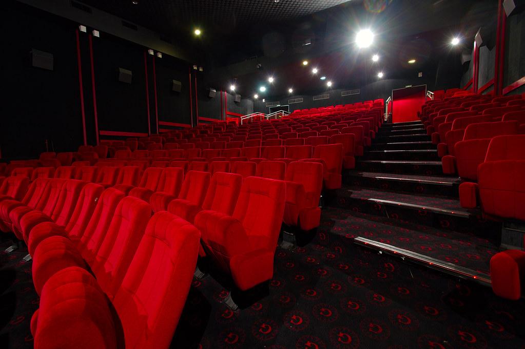 Salle 2 du cinéna L'Omnia