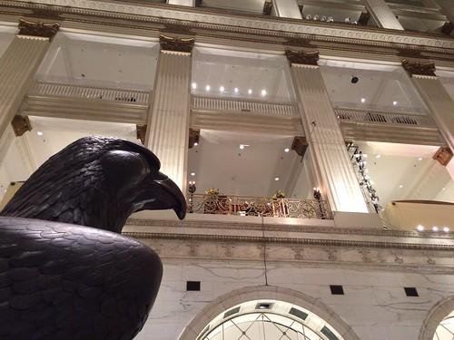 Eagle Wanamaker Organ Macy's Philadelphia PA