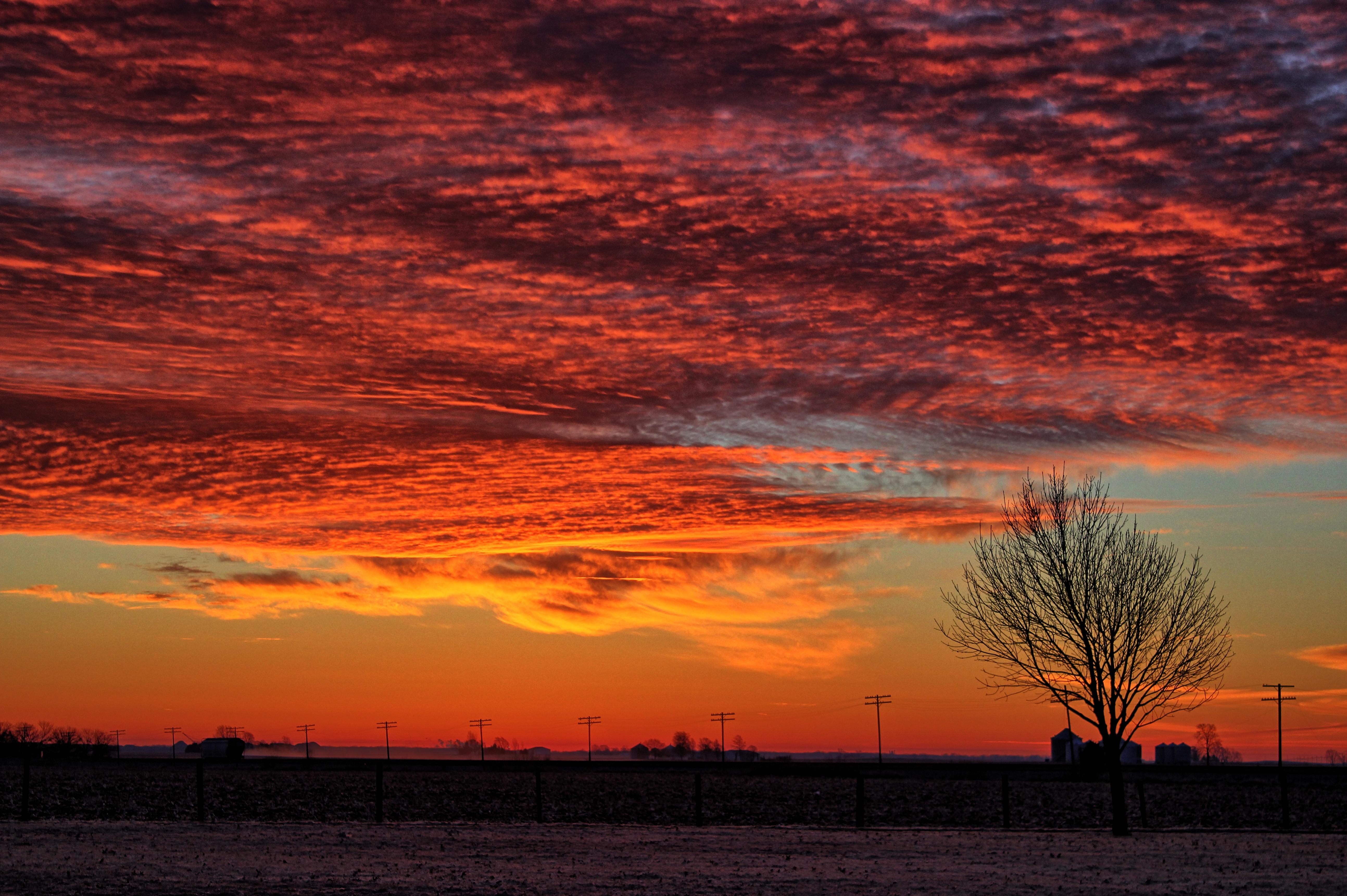 Illinois vermilion county muncie - Cemetery Sunrise Illinois Homer Gar