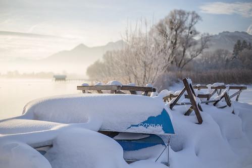 winter light sun snow sunrise canon germany bayern 50mm dawn boat chiemsee prien 6d canonef50mmf14usm