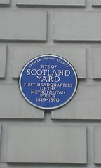 Photo of Scotland Yard blue plaque