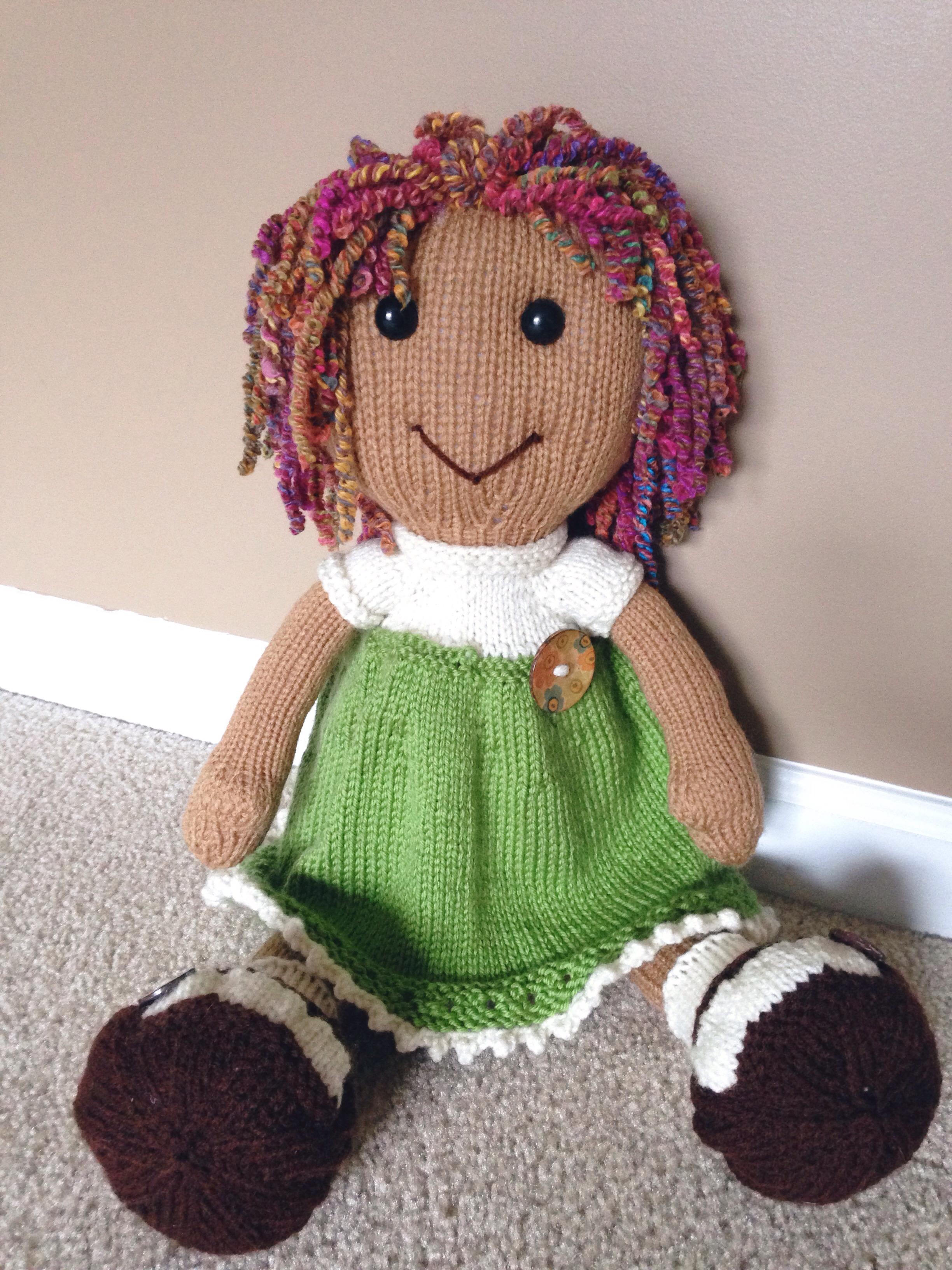 green doll2