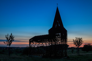 ABM (Another Blue Monday) / The transparent church of Borgloon, Belgium