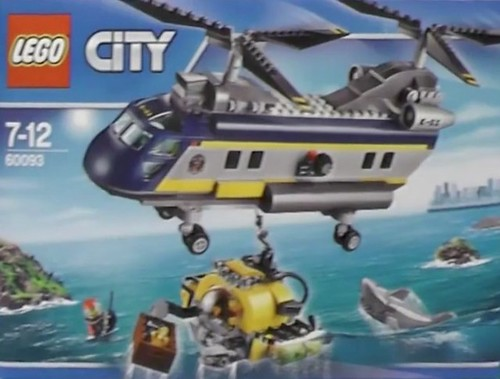 LEGO City Deep Sea 60093