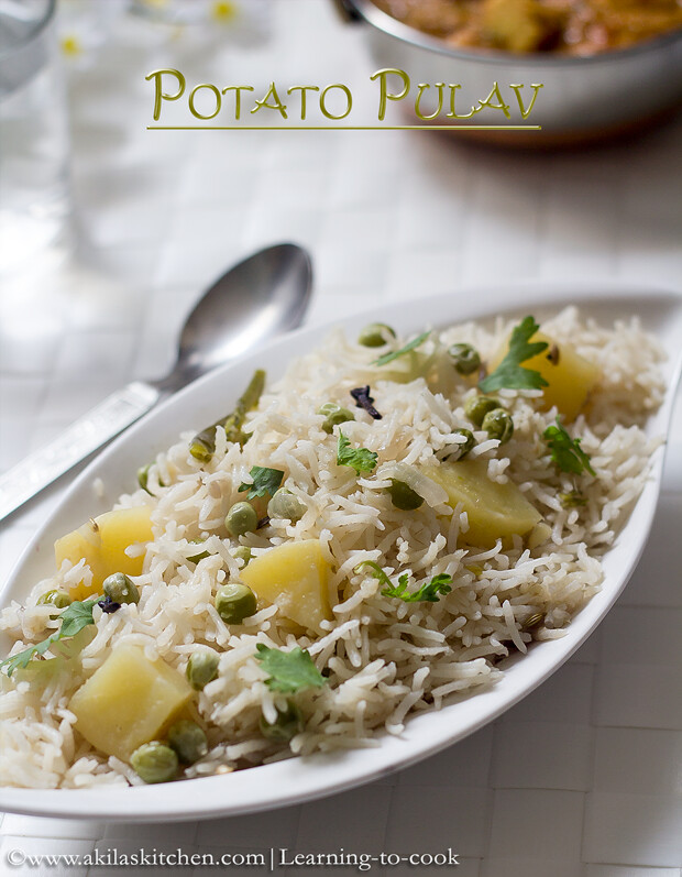 Potato pulav