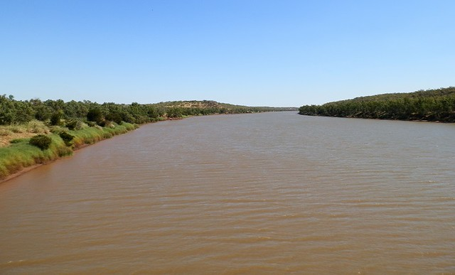 View of a Bridge, Victoria River, via Timber Creek
