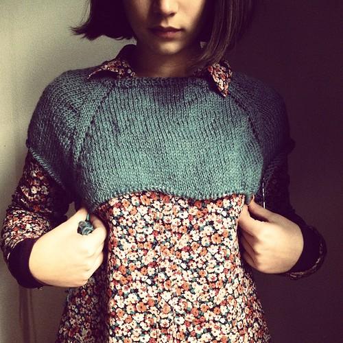Sem medo #tricot #knitting