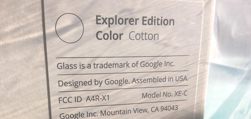 Replacement Google Glass (XE-C)