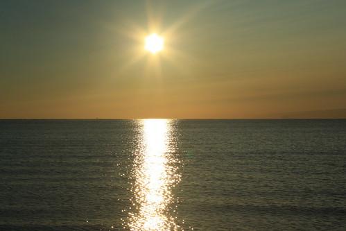 beach sunrise lakeerie michigan monroe monroecounty sterlingstatepark