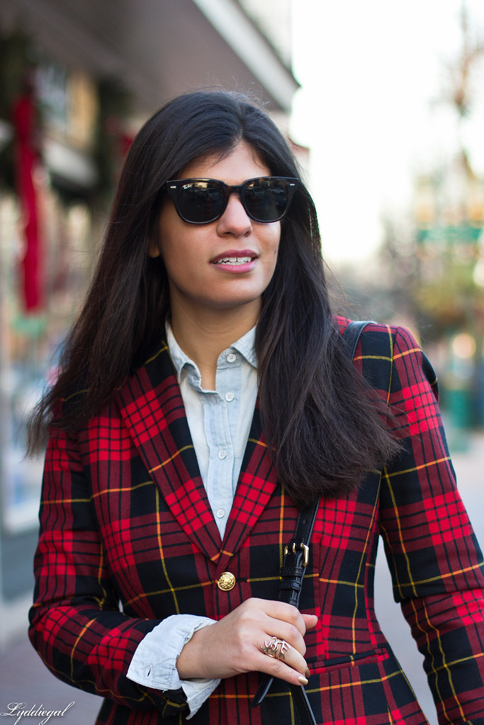 Double Denim, Plaid Blazer-1.jpg