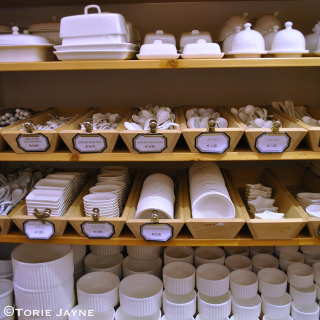 White ceramics at Ditte & Kamille