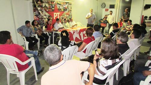 Reunião com lideranças de Fortaleza