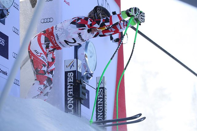 Anna Menninger wins super G at '15 Worlds