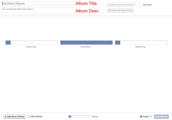 How to Upload Photos or Pictures on Facebook using PC or Mac 3