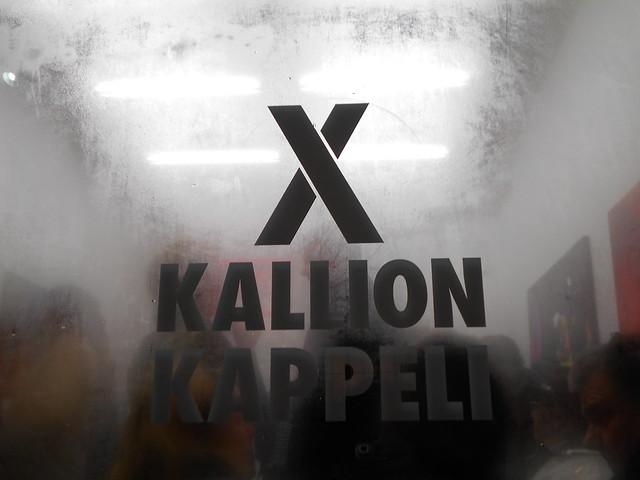 Kallion kappelin avajaistungos kahtena ilmentymänä 6.2.2015