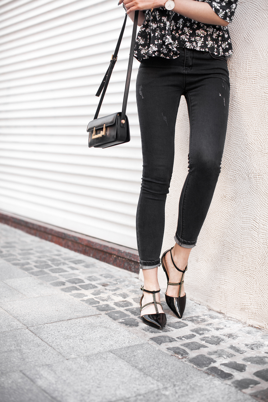 how-to-wear-skinny-jeans-with-flats-outfit-ideas