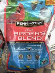 Mixed bird seed.