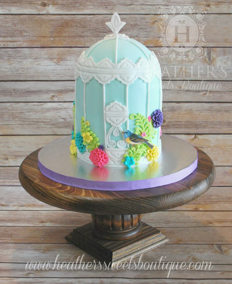 Heather Chamberlin's Beautiful Cake
