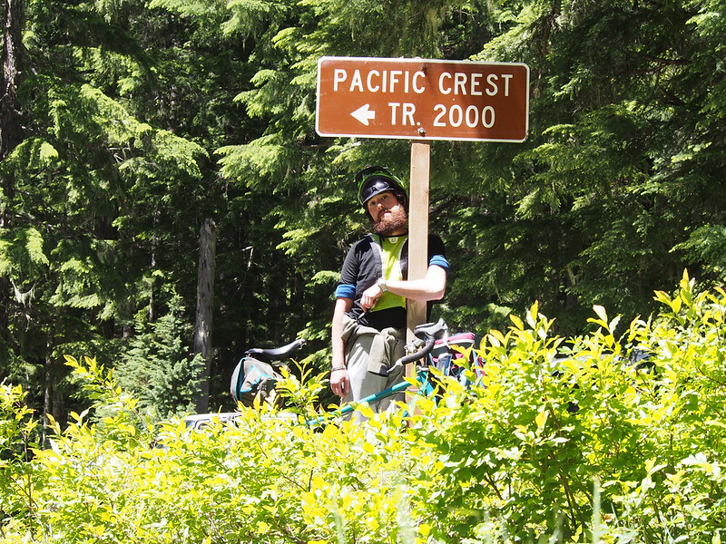 Pacific Crest Trail Crossing