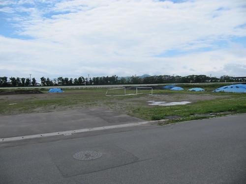 函館競馬場の内馬場