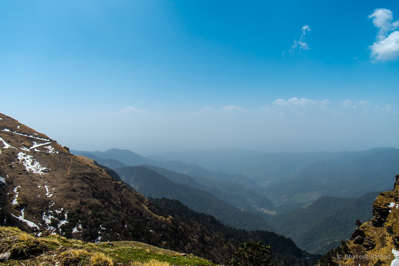 View from Chopta, Uttarakhand