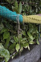 Yarn bombing Besançon 54