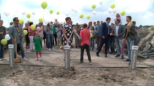 Heliumballonnen Ballonoplating Start Bouw Heerlijk Heenvliet