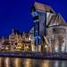 Gdansk panorámica de la ciudad histórica by dleiva
