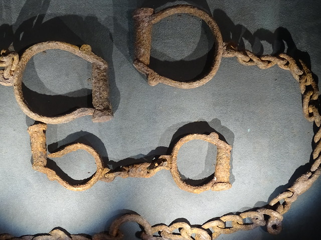 18th-Century Slave Shackles from Tamale, Northern Ghana - International Slavery Museum - Liverpool - England