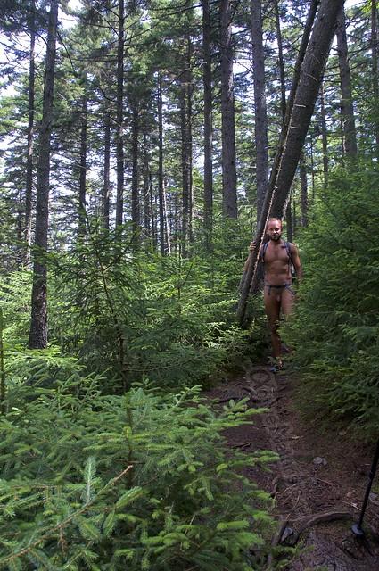 naturist 0006 Appalachian trail, Vermont, USA
