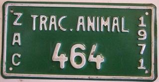 MEXICO, ZACATECAS 1971 ---ANIMAL DRAWN VEHICLE