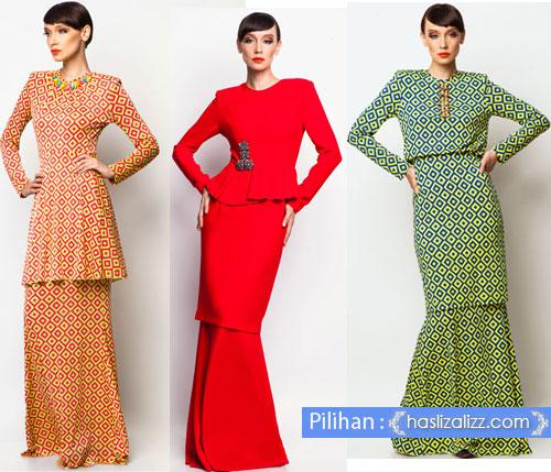 Fesyen Baju Kurung Moden Rizalman Harga Baju Kurung Rizalman ni