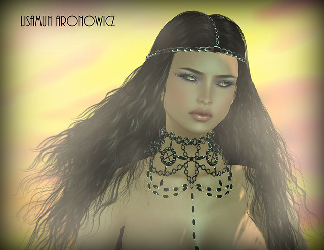 Passion Hair and Dawn Necklace