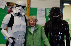 Proud Grandmother of Storm Trooper and Empire Fighter-pilot cosplay - ANS Sci-Fi & Comic Con 2013
