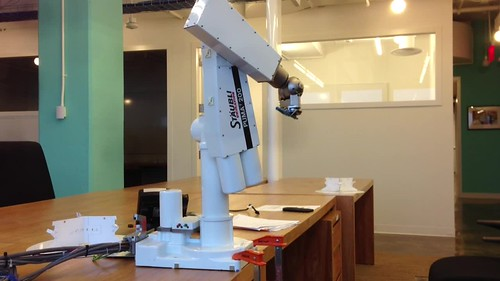 PUMA Robot arm inverse kinematics