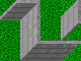 Wall and grass tiles from Labyrinth