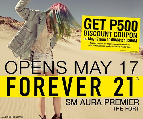 Forever 21 SM Aura Premier