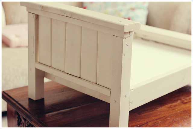 Farmhouse Doll Bed 8