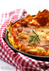 Sausage and ricotta lasagne