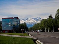 Ala-too Mountains from Bishkek