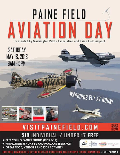 Paine Field Aviation Day 2013