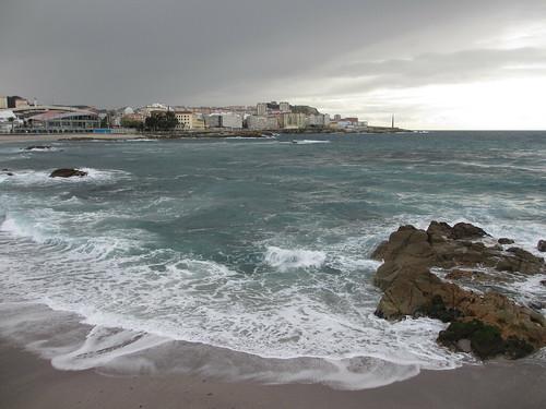 El mar en Riazor by treboada