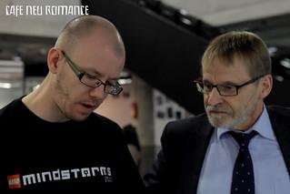Cafe Neu Romance 2012: Xander Soldaat & Lars Kjellberg